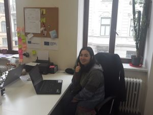My first picture as an ESC volunteer in Brno.