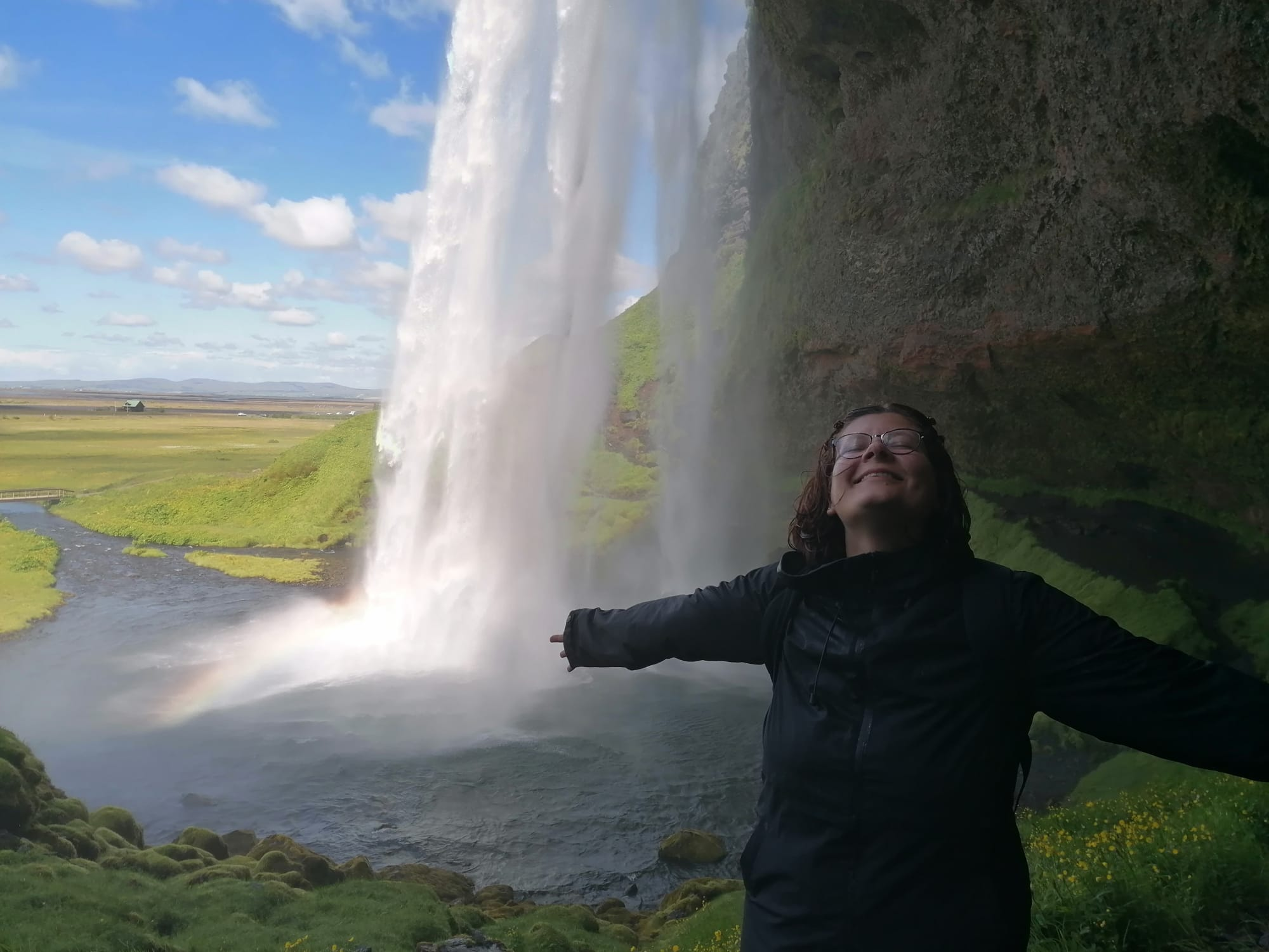 camp leader in Iceland